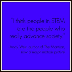 Andy Weir Advance Society quote